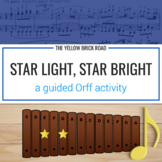 Star Light, Star Bright: a guided Orff activity