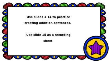 Star Math Addition PowerPoint