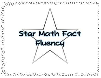 Star Math Fact Fluency