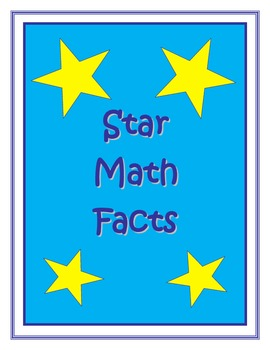 Star Math Facts Timed Tests