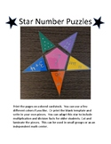 Star Number Puzzles