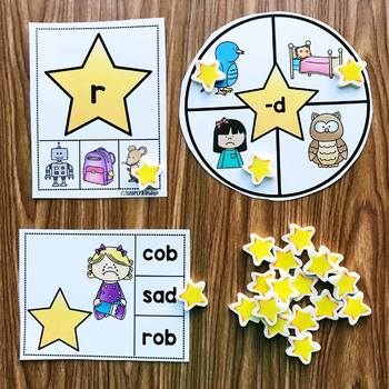 Star Mini Eraser Activities