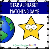 Star Mini Puzzle Matching Alphabet Game for Preschool, Prek, and Kindergarten
