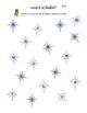 Star Musical Alphabet Color Sheet