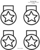 Star Name Craft for Kindergarten (US Symbols, America)