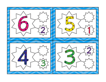 Star Number Bonds 1-10
