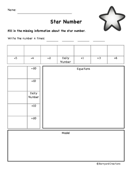 Star Number/Daily Number Center