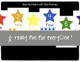 Star Number Posters with Tens Frames