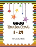 Star Numbers 1-24
