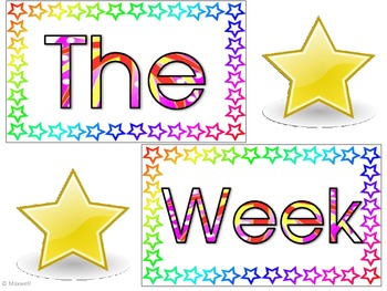 Star Of The Week Picture Frame Attachments
