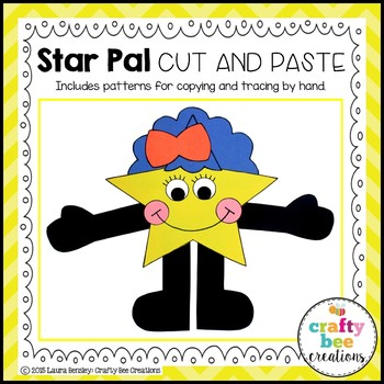 Star Pal Cut and Paste