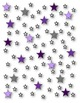 Star Paper and Frames Clip Art