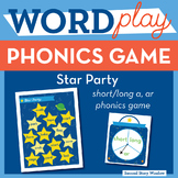 Star Party -ar Phonics Game - Words Their Way Game