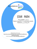 Star Path Digraph and R-controlled Vowel Games