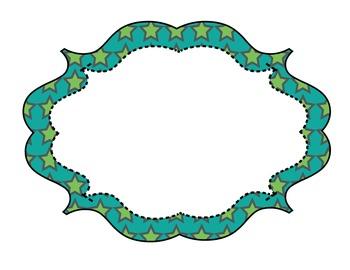 Star Pattern Digital Frames