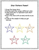 Star Pattern Power!  Words with short vowel sounds