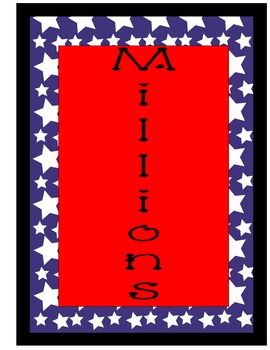 Star Place Value Banner
