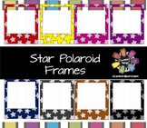Star Polaroid Frames