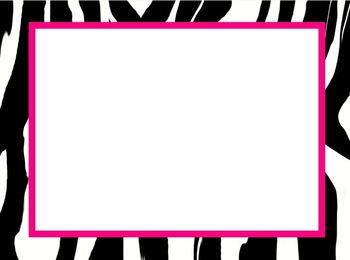 Star, Polka Dot, and Zebra Background Pack