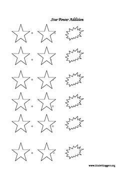 Star Power Addition Game