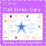 End of Year - Star Power Math Review Game