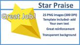 Star Praise Clip Art