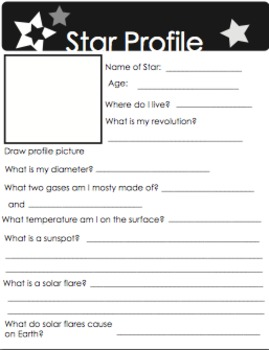 Star Profile Packet