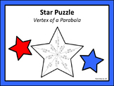 Star Puzzle: Vertex of a Parabola
