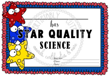 Star Quality Science