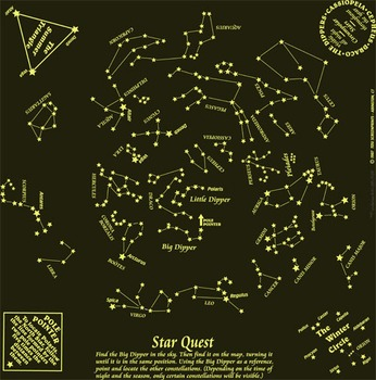 Star Quest Constellation Astronomy Enrichment Activity