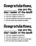 Silent Reading Award