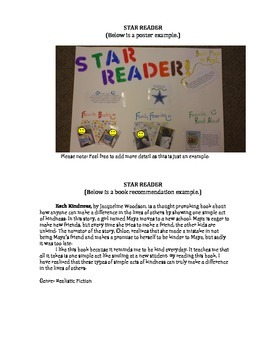 Star Reader - Student of the Week