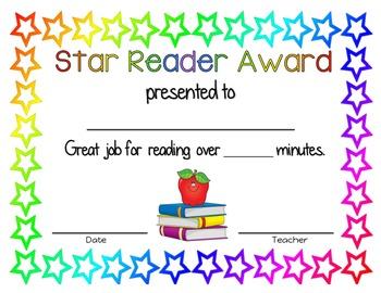 Star Reader Award