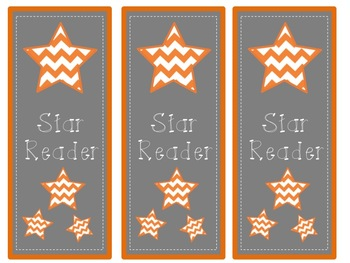 Star Reader Bookmarks