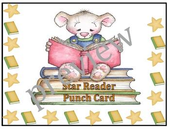 Star Reader Punch Card