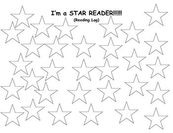 Star Reader Reading Log