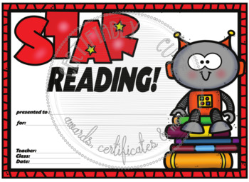 Star Reading! Robot