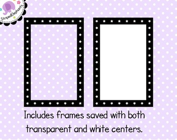 Star Rectangle Digital Frames 2