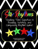 Star Rhythms Time Signature Lesson & Scooter Game!