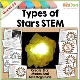 Stars STEM:  Types of Stars
