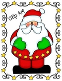 Star Santa Clip Art Kit ~ Commercial Use Welcome!