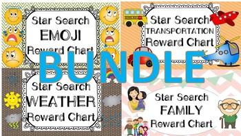 Star Search BUNDLE 1 VIPKID Reward System Chart - Online Teaching Tool