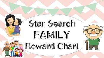 Star Search Family VIPKID Reward Chart - Online Teaching Tools