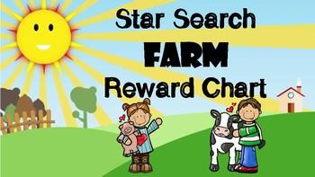 Star Search Farm VIPKID Reward System Chart - Online Teaching Tool