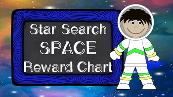 Star Search Space VIPKID Reward Chart - Online Teaching Tools