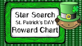 Star Search St. Patrick's Day VIPKID Reward Chart - Online Teaching Tools