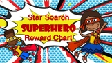Star Search Superhero VIPKID Reward Chart - Online Teaching Tools