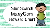Star Search ManyCam VIPKID Reward Chart - Online Teaching Tools