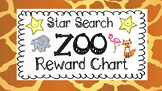 Star Search Zoo VIPKID Reward Chart - Virtual Classroom - Online Teaching Tools