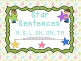 Star Sentences: R,S,L,SH,CH,TH